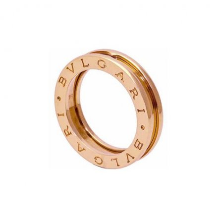 Bulgari B.ZERO1 1-band anello in oro rosa 18 carati