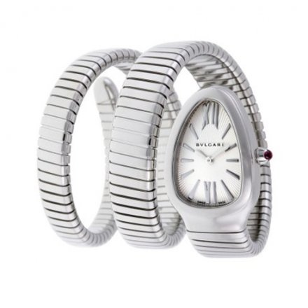 Bulgari Serpenti Tubogas 35mm steel watch SP35C6SS.2T