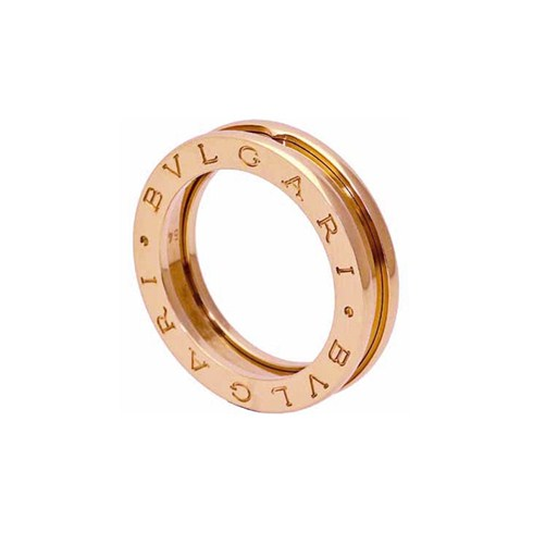 Bulgari B.ZERO1 1-Band Ring in Rotgold 18 K