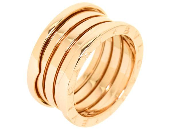 Bvlgari B.ZERO1 Bague en or rose 4 bandes AN856732