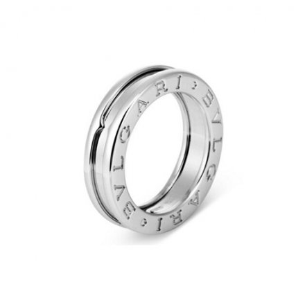 Replica Bulgari B.ZERO1 1-band ring in 18K white gold