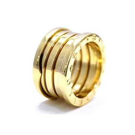 Bulgari B.ZERO1 4-band yellow gold ring
